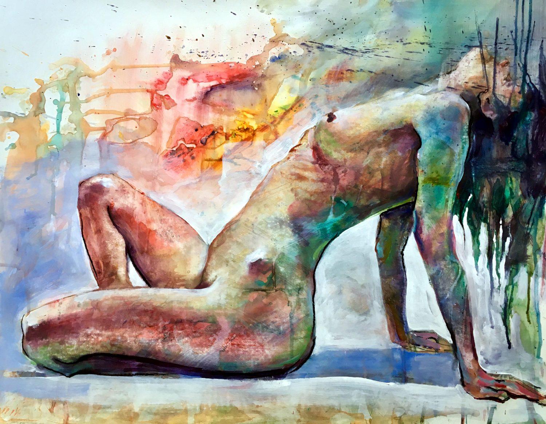 Drippy Nude Study